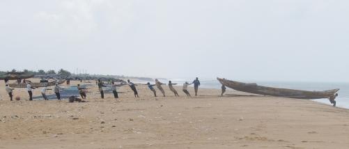 Fishermen's Life in Aflasco - Volta Region (Ghana)