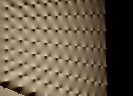 Enrico Castellani - White Surface. Dyptich (Gallerie D'Italia)
